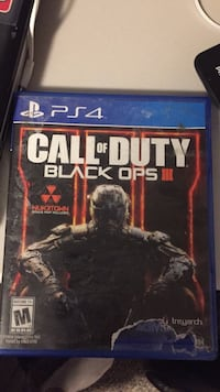 Call of Duty Black Ops 3 PS4 game case Halifax, B2Z 1E6