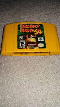 N64 Donkey Kong 64 Video Game Hamilton, L8V 3A4