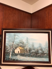 Scenic oil painting. Only serious buyer pls .. Hackettstown, 07840