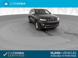 2014 Jeep Grand Cherokee suv Limited Sport Utility 4D Black