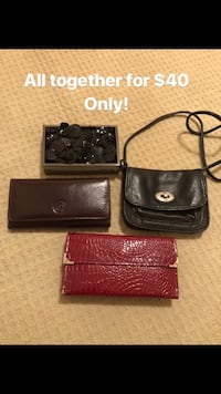 Brand wallets for $40 all together only!  Richmond Hill, L4C 8Y1