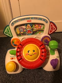 Fisher Price Laugh and Learn steering wheel  Erie, 16504