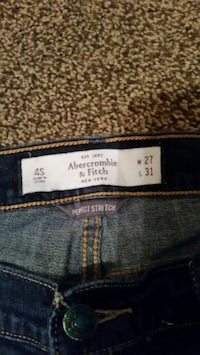 Abercrombie an Fitch size 4, 27/31 great condition