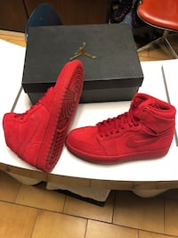 Jordan 1 red suede. Size 9.5 for men. Only $180!!!