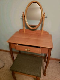 Vanity w/mirror and bench Derby, 67037