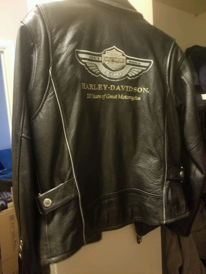 Photo Harley Davidson Womens Leather Jacket