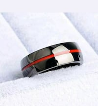 Beautiful black and red Line Band