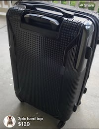 black and gray soft-side luggage Duluth, 30096