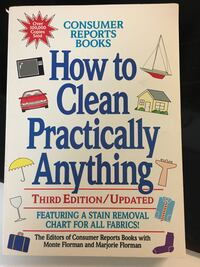 Book- How to Clean Practically Anything Dollard-des-Ormeaux, H9A 3C9