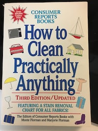 Book- How to Clean Practically Anything