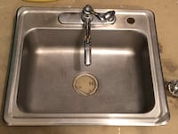 """Kitchen sink with faucet 25""""x22"""" Alexandria, 22310"""