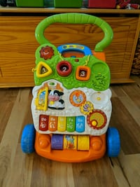 baby's yellow and green Vtech learning walker Cumberland, 23040