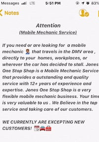 Best  mobile  mechanic in the dvm Washington