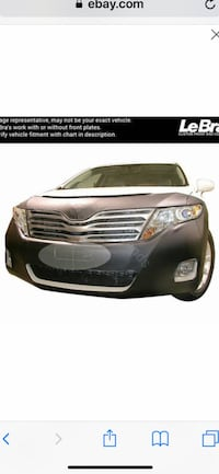 Toyota Venza Front End Mask Clinton, 20735