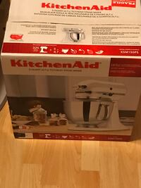 Kitchen aid stand mixer brand new never opened  93 mi
