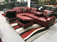 BRAND NEW- sectional w/ storage& cup holders Rosedale, 21237