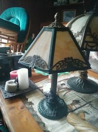 black and gray table lamp Hamilton, L9C 7R5