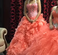 Quincenera dress Lubbock, 79401
