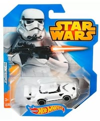 Star Wars Stormtrooper HotWheeLs