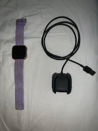 Fitbit Versa, Size:L with charger, purple woven band Woodbridge, 22193