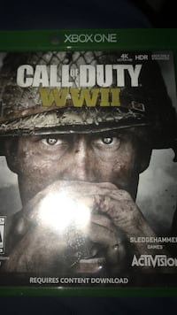 Cod ww2  whatever price you suggest Xbox one barley played  Columbus, 31903