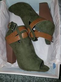 Open Toe Booties Livermore