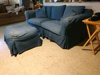 Free couch and ottoman  Jerome, 49249