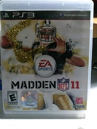 Madden NFL 12 PS3 game case Los Angeles, 90007