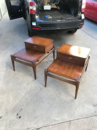brown wooden desk with chair Los Angeles, 90036