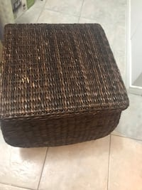 Wicker storage box Markham, L3S 3V8