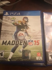 Sony PS4 Madden NFL 15 game case Severn, 21144