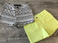 Two Pairs of New Shorts - Sz 27/28 Cambridge, N1T 2A1
