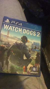 Watch Dogs 2 PS4 game case New York, 10458
