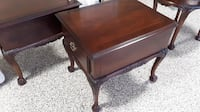 Matching Pair of Mahogany End Tables Chesapeake