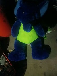 New blue and green bear big plush toy Denver, 80219