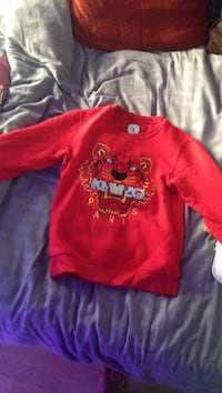 Pull KENZO rouge taille S Anglet, 64600