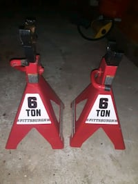 Two 6-ton Jack Stands