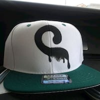 white and green New York Yankees fitted cap Los Angeles, 90019