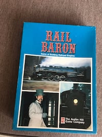 Rail Baron board game Oakville, L6H 3B6