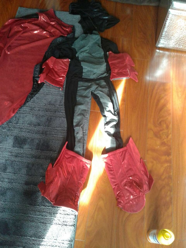 Used Handmade Batman Costume For Sale In Rolling Meadows