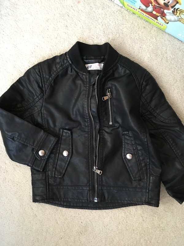 H&M kid leather jacket f82ff665-0e76-44c2-a5ee-8619cf0612b8