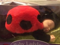 red and black dog plush toy Parma, 44129