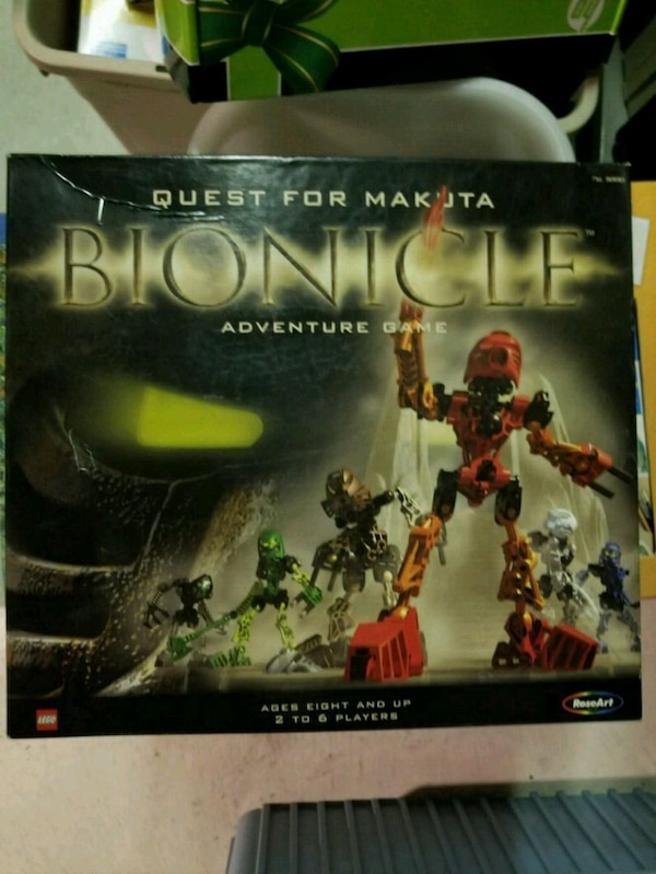 Bionicle Board Game AS IS