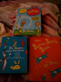 Dr. Seuss 7 books in mint condition Burlington, L7R 2L4