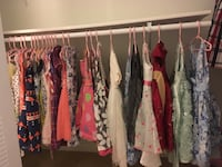 30 Dresses size 6 couple size 5 one size 4 $7-$1 or best offer West Des Moines, 50266