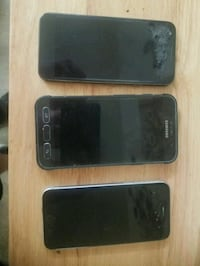 three black android smartphones and black iPhone 4 Frederick, 21701