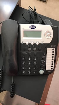 AT&T 2-line corded office telephone model 992 596 mi
