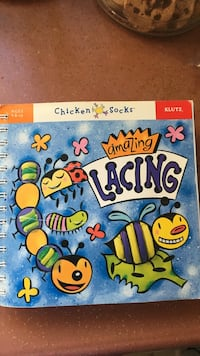 Klutz amazing lacing book for toddler 4 yrs and up Toronto, M1E 3J3