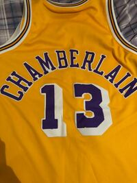 yellow and white Lakers 24 jersey Chantilly
