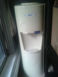 white hot and cold water dispenser